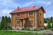 Проект большой деревянный дом