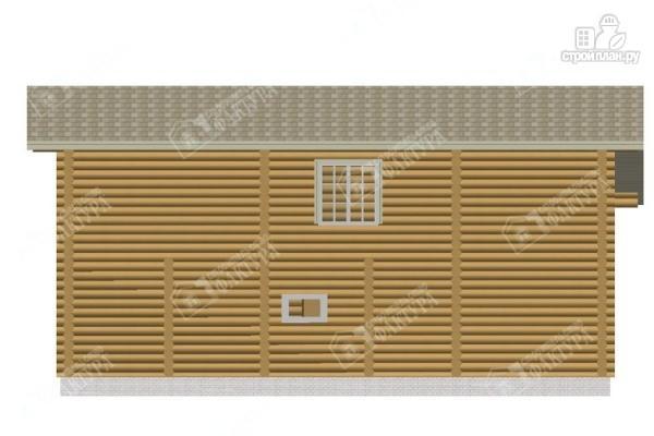 Фото 5: проект просторный бревенчатый дом для большой семьи