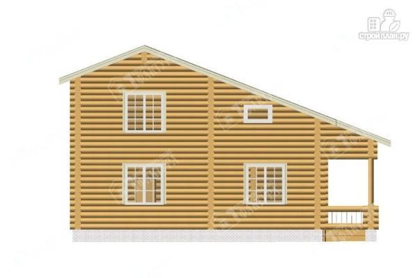Фото 6: проект просторный бревенчатый дом для большой семьи