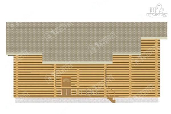 Фото 7: проект просторный бревенчатый дом для большой семьи