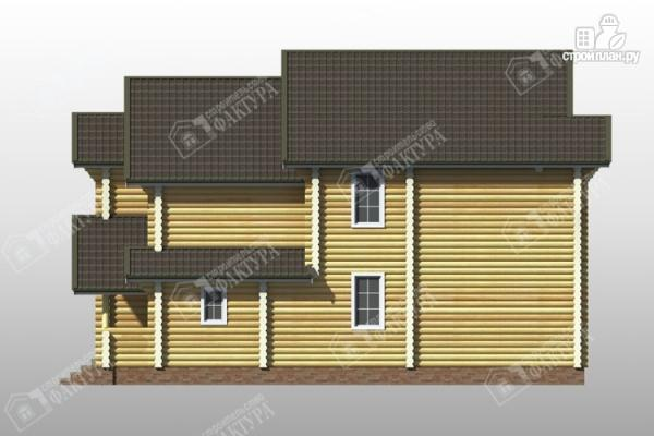 Фото 5: проект дом усадьба из бревна