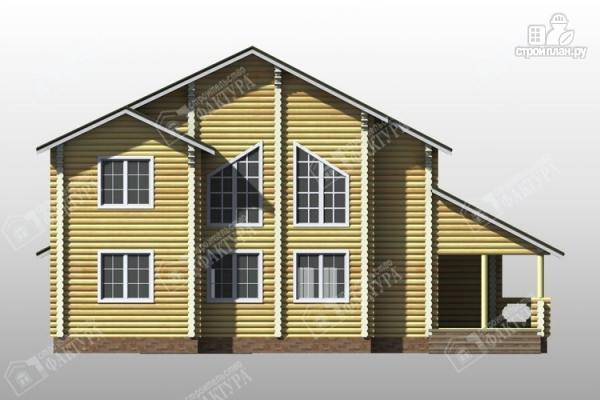 Фото 6: проект дом усадьба из бревна