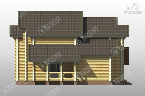 Фото 7: проект дом усадьба из бревна