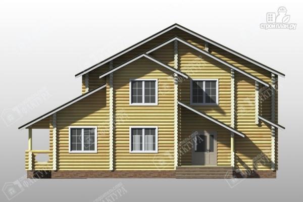Фото 4: проект дом усадьба из бревна