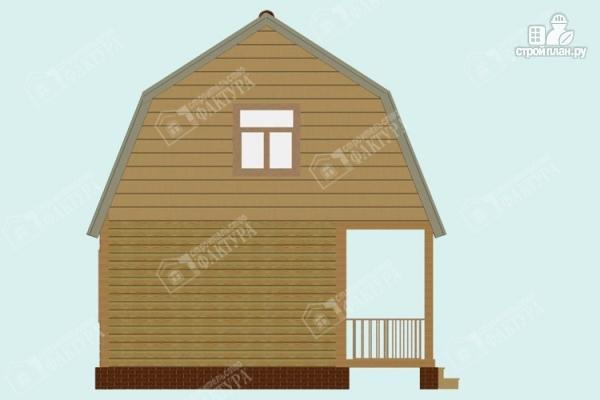 Фото 7: проект дом из пиленного бруса