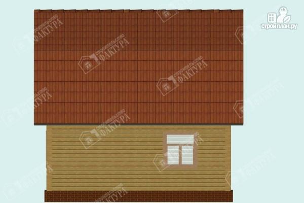 Фото 6: проект дом из пиленного бруса