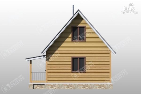 Фото 6: проект двухэтажный дом из бруса