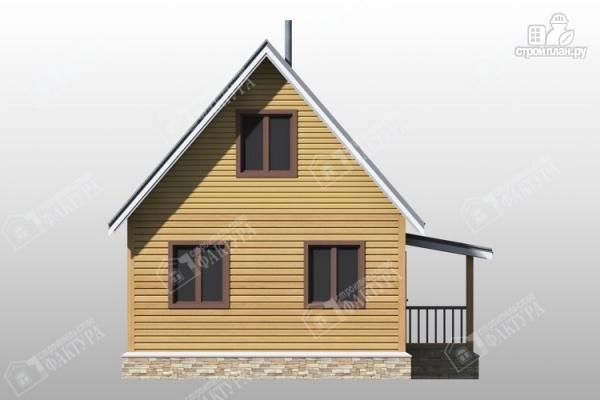 Фото 4: проект двухэтажный дом из бруса