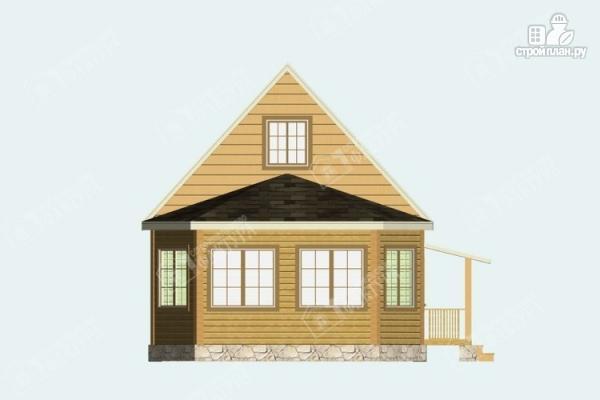 Фото 4: проект дом из бруса 6х8