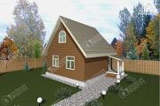 Проект дом из бруса 7х7