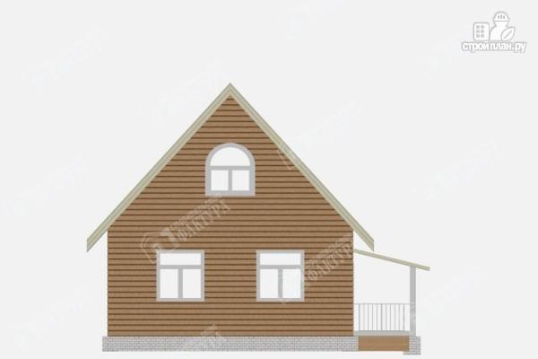 Фото 4: проект дом из бруса 7х7
