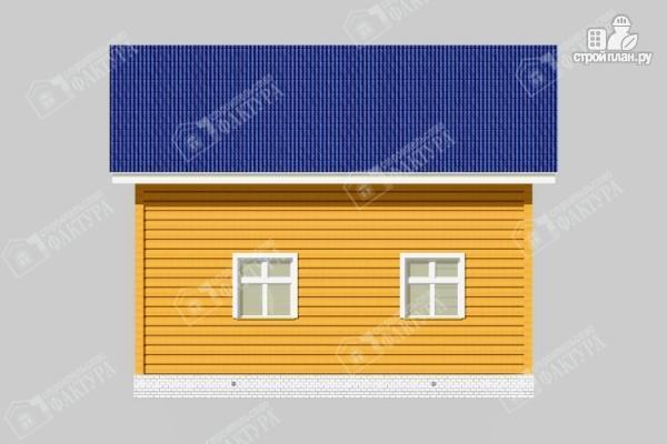 Фото 7: проект дом 7х8 из бруса