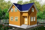 Проект дом 7х8 из бруса
