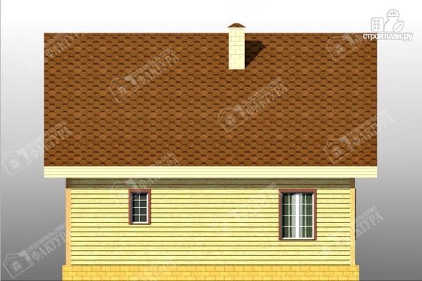 Фото 6: проект дом 7х9 из бруса