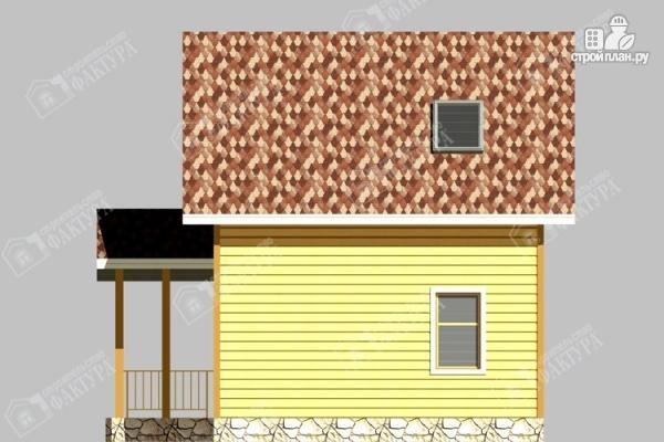 Фото 5: проект дом 6х9 из бруса