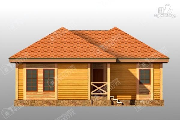 Фото 3: проект одноэтажный дом из бруса 10х11