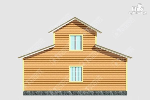 Фото 6: проект дом из бруса 6х10