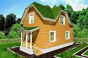 Проект брусовой дом 6х9
