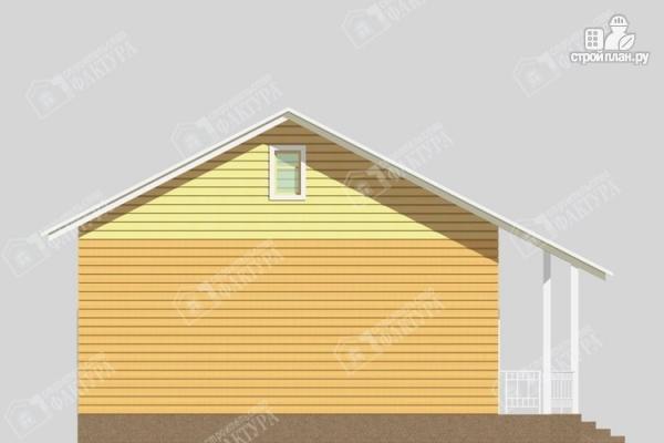 Фото 6: проект одноэтажный дом из пиленного бруса