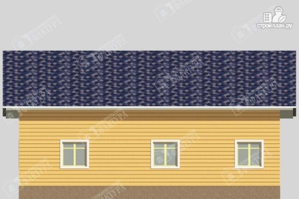Фото 5: проект одноэтажный дом из пиленного бруса