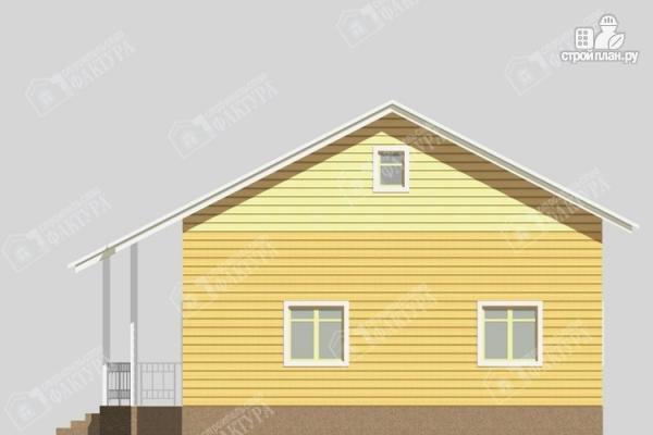 Фото 4: проект одноэтажный дом из пиленного бруса