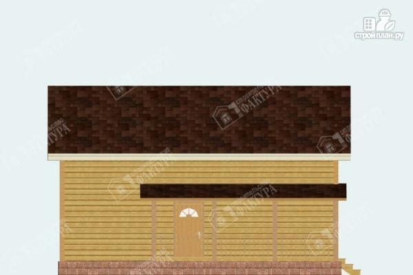 Фото 7: проект брусовой дом с мансардой