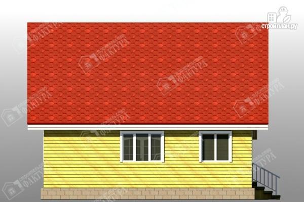 Фото 7: проект дом 9х9 из бруса