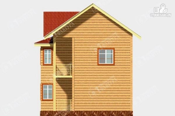 Фото 5: проект дом 7х9 из бруса