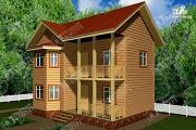 Проект дом 7х9 из бруса