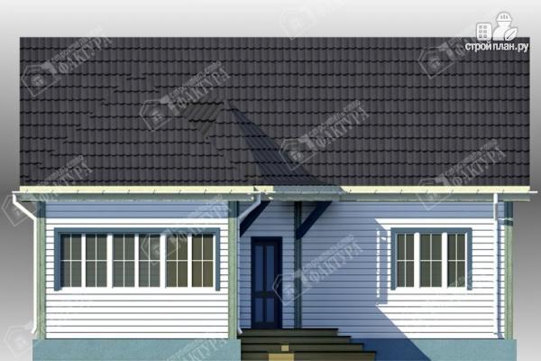 Фото 4: проект дом 10х11 из бруса