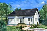 Проект дом 10х11 из бруса