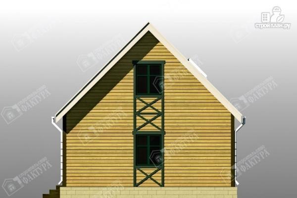 Фото 5: проект брусовой дом с мансардой