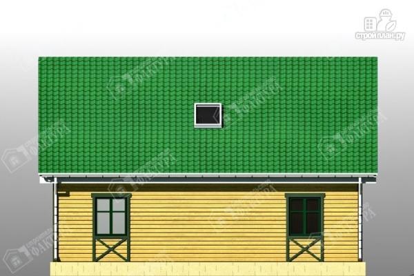 Фото 6: проект брусовой дом с мансардой