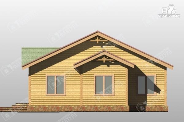 Фото 4: проект одноэтажный дом из пиленного бруса 150 мм