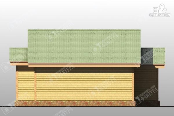 Фото 5: проект одноэтажный дом из пиленного бруса 150 мм
