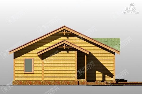 Фото 6: проект одноэтажный дом из пиленного бруса 150 мм