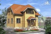 Проект дом 9х10 из бруса