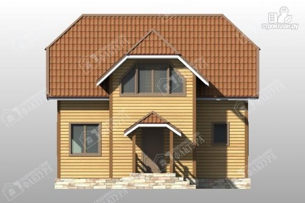Фото 4: проект дом 9х10 из бруса