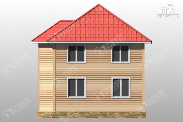 Фото 6: проект дом из бруса с эркером