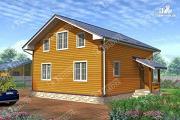 Проект брусовой дом 9х10