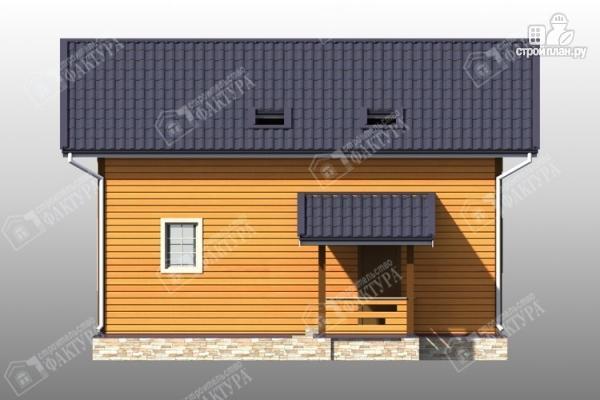 Фото 5: проект брусовой дом 9х10