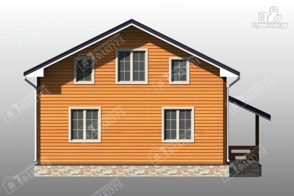 Фото 4: проект брусовой дом 9х10