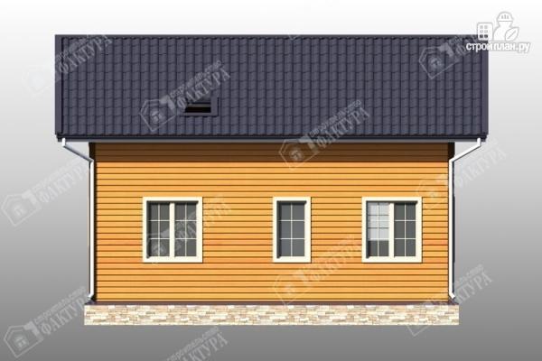 Фото 7: проект брусовой дом 9х10