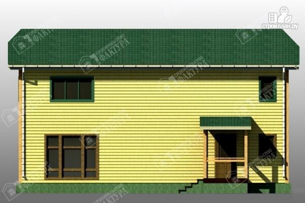 Фото 6: проект большой дом 6х13 из бруса