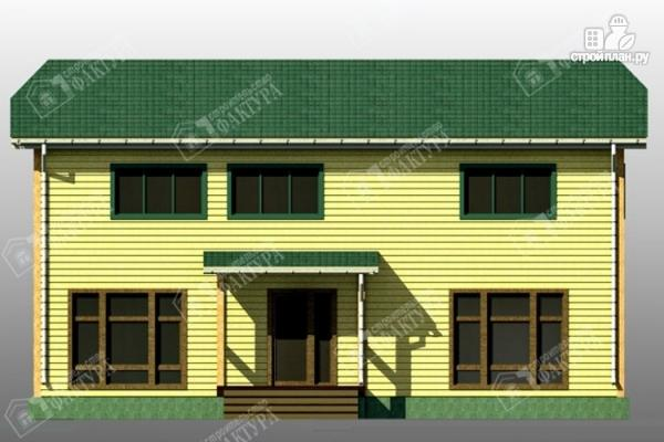 Фото 4: проект большой дом 6х13 из бруса