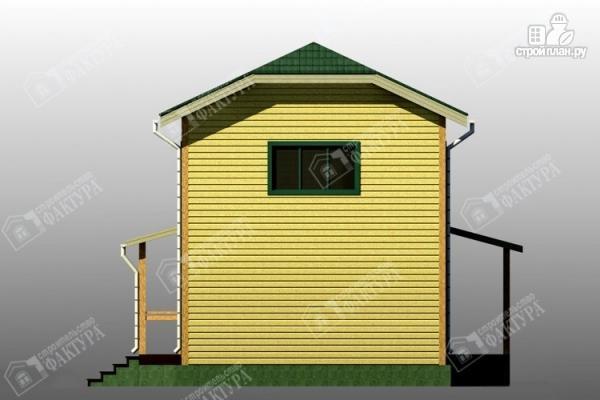 Фото 5: проект большой дом 6х13 из бруса