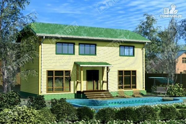 Фото: проект большой дом 6х13 из бруса