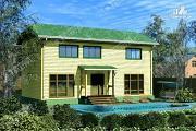 Проект большой дом 6х13 из бруса