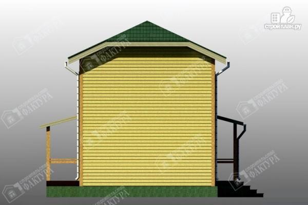 Фото 7: проект большой дом 6х13 из бруса