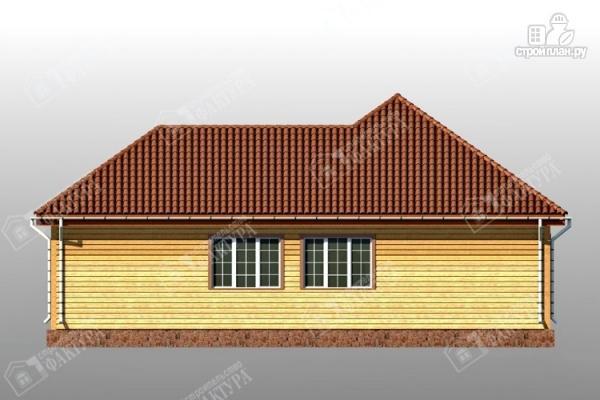 Фото 5: проект дом 13х14 из бруса с гаражом